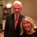 President Bill Clinton and Lucy