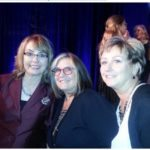 Gabrielle Giffords, Lucy, Denise Altomare (CAHSAH Chair)