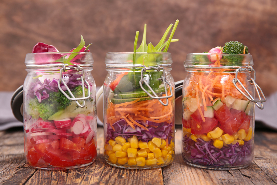 Elder Care in Sonoma CA: Make-Ahead Jar Meals