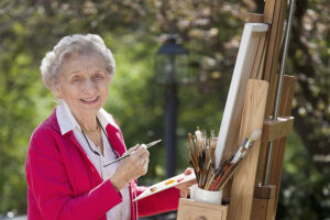 Elderly Care Sonoma CA - What Types of Art Therapy Could Help Your Elderly Loved One?